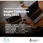 Comienzan las capacitaciones a jurados provinciales de los Juegos Culturales Evita